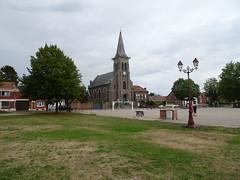 Église Sainte-Barbe de Wallers – à Wallers.
