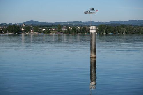 Greifensee - von Maur Blick nach Uster