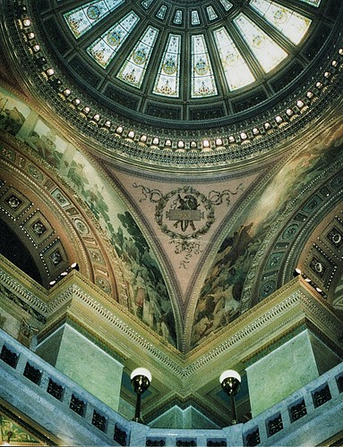 Fort Wayne  Indiana  - Allen County Courthouse - Historic Architecture