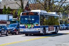 New York MTA Orion 07.501 Next Generation Hybrid-Electric Low Floor #4662