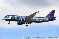 Brussels Airlines, OO-SND : The Smurfs