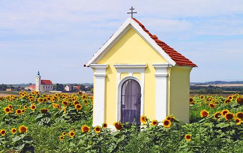 GrossInzersdorf. Hofäcker-Kapelle, 1740 - Rokoko