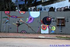graffiti - Alvo e Harp na Praça Argentina