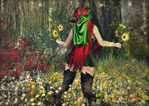 Dancing Fawn in the Fae Forest