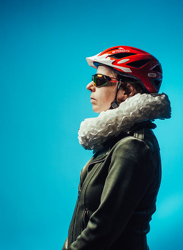 profile with helmet