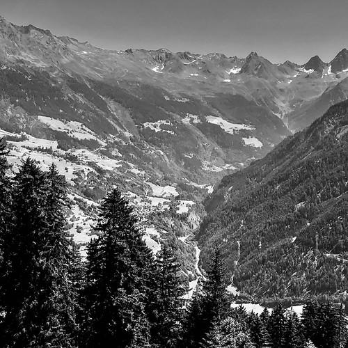 Blick ins Kaunertal - Ladis, Tirol