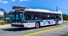 New York MTA Nova Bus Model LF40102