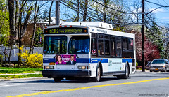 New York MTA Orion 07.501 Hybrid-Electric Low Floor #6463