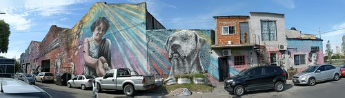 Former largest mural of the world done by one single person - El Pelado 5