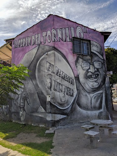 Former largest mural of the world done by one single person - El Pelado 2
