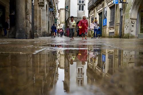 Reflejos de un día de lluvia.