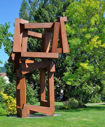 Chaos - Sculpture de l'artiste américain Jedd Novatt