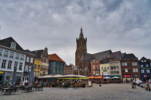 Roermond - Sint-Christoffelkathedraal - Markt