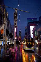 Night Tram_Bourke Street