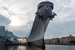 Waterside USS Wisconsin BB-64 1