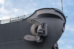 Waterside USS Wisconsin BB-64 4
