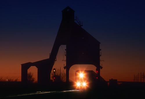 Dawn at De Kalb