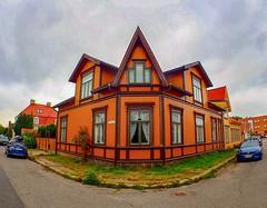 Cicignon architectural district. Fredrikstad. Norway