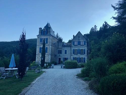 Kamperen bij Chateau du Besset - Saint Prix
