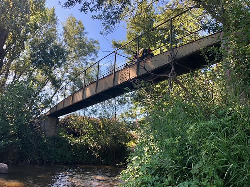 De gave brug bij Belleville