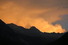 Rochebrune aux nuages d'or