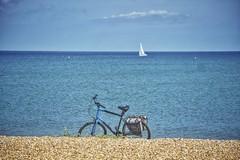 Beach, Bike, Boat