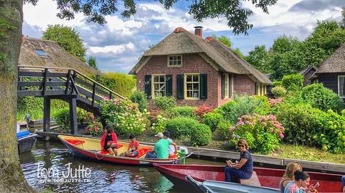 Giethoorn, Little Venice, Overijssel, Netherlands - 2849