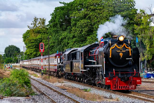 Steam Locomotive 824