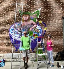Muralists, Lee, Mass.