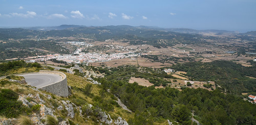 View Westwards from El Toro, Menorca