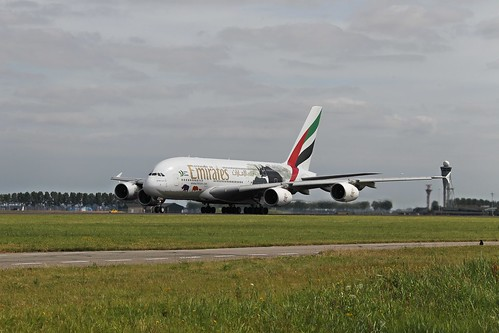 Airbus A380 A6-EER