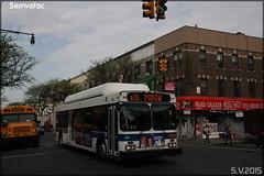 New Flyer C40LF – New York City Bus / MTA (Metropolitan Transportation Authority) n°395