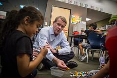 Senator Bennet Visits The Downtown School