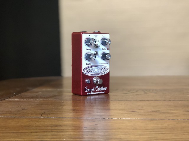 Photo:EarthQuaker Devices Grand Orbiter Phaser Pedal By GuitarChalk