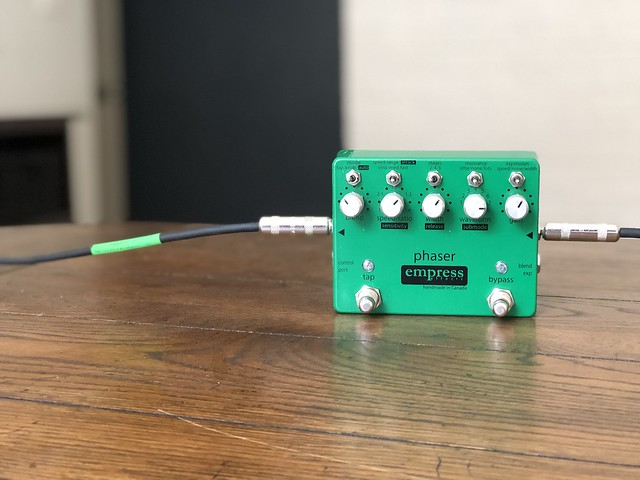 Photo:Empress Effects Phaser By GuitarChalk
