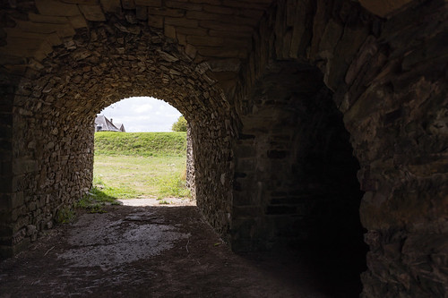 Under the ramparts at Rocroi