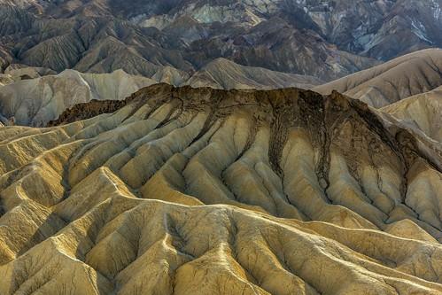 *Zabriskie Point Badlands @ closer view*
