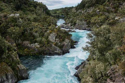 Aratiatia Rapids - Taupo
