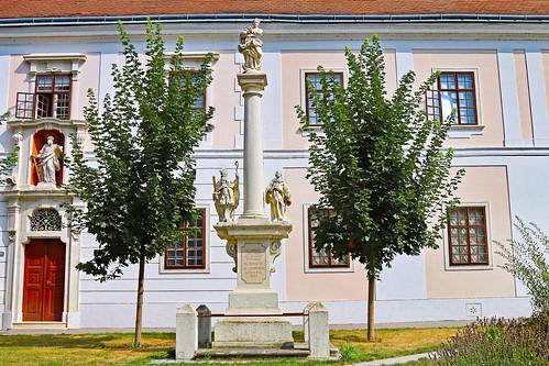 Margarethen/Moos. Mariensäule, 1736 - Rokoko
