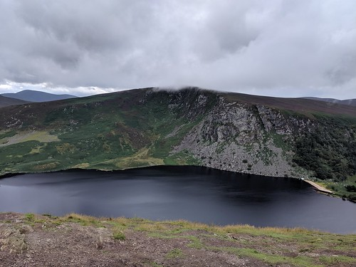 Magnificent Lough Tay in Ireland