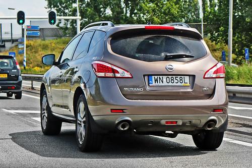 Nissan Murano 2.5 dCi - WN 0858L - Warsaw City (Ursynów), Masovian Voivodeship, Poland