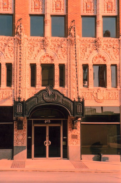 Photo:The Adams Hotel is located on a lot in the heart of the Central Business District of Tulsa. Built by I. S. Mincks to capitalize on the 1928 International Petroleum Exposition, By Onasill ~ Bill Badzo - 66M