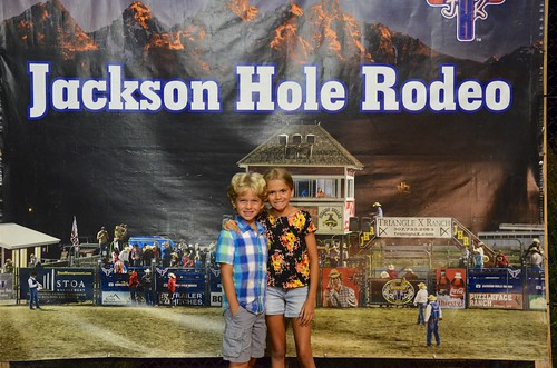 The Kids At The Jackson Hole Rodeo