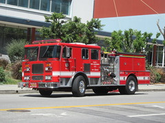 Los Angeles Fire Department Seagrave
