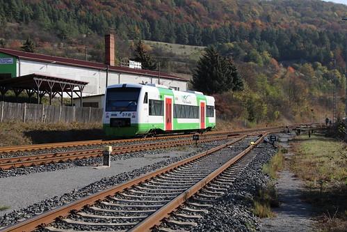 2018-10-20; 0092. STB VT 143. Walldorf. Plandampf im Werratal, Dampffinale.