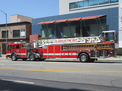 Los Angeles Fire Department American LaFrance