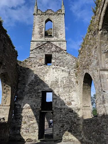 Baltinglass Abbey ruins in Ireland