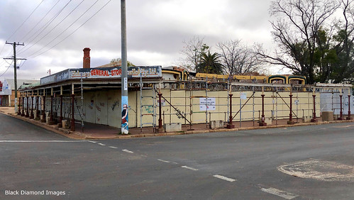 Former Knox and Downs General Store, Wilcannia, Western NSW