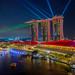 Marina Bay Sands Lightshow