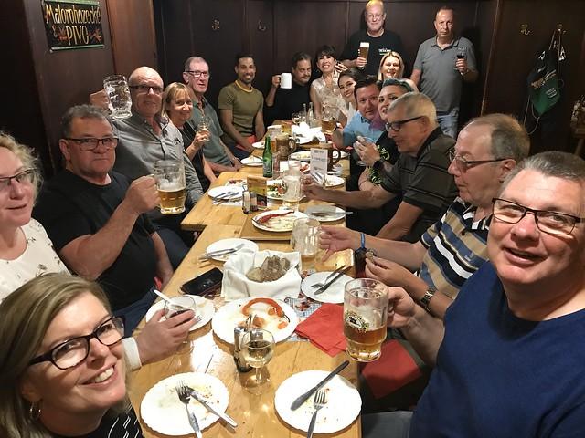 Closing brewery dinner